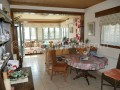 Open plan kitchen/living space
