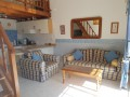 Open plan living room/ kitchen